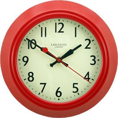 【正規輸入品】 イギリス ロジャーラッセル LON/LASC/RED ROGER LASCELLES 掛け時計 レトロ&デコクロック