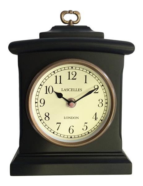 【正規輸入品】 イギリス ロジャーラッセル MANT/LASC/BLACK ROGER LASCELLES 置き時計 マントルクロック