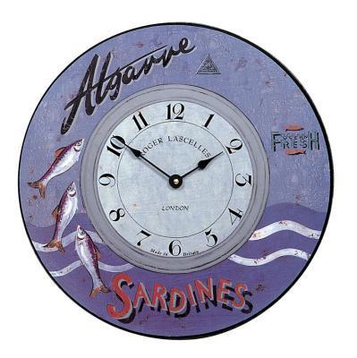 【正規輸入品】 イギリス ロジャーラッセル PUB/ALG ROGER LASCELLES 掛け時計 マリンクロック