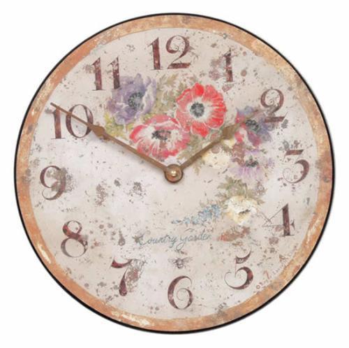 【正規輸入品】 イギリス ロジャーラッセル PUB/ANE ROGER LASCELLES 掛け時計 フローラルクロック