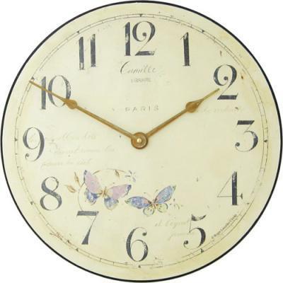 【正規輸入品】 イギリス ロジャーラッセル PUB/CAMILLE ROGER LASCELLES 掛け時計 フローラルクロック
