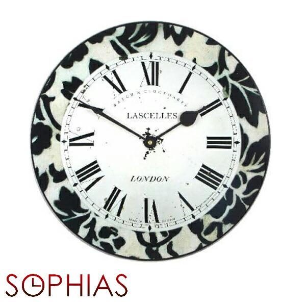 【正規輸入品】 イギリス ロジャーラッセル PUB/DAMASK ROGER LASCELLES 掛け時計 モダンクロック