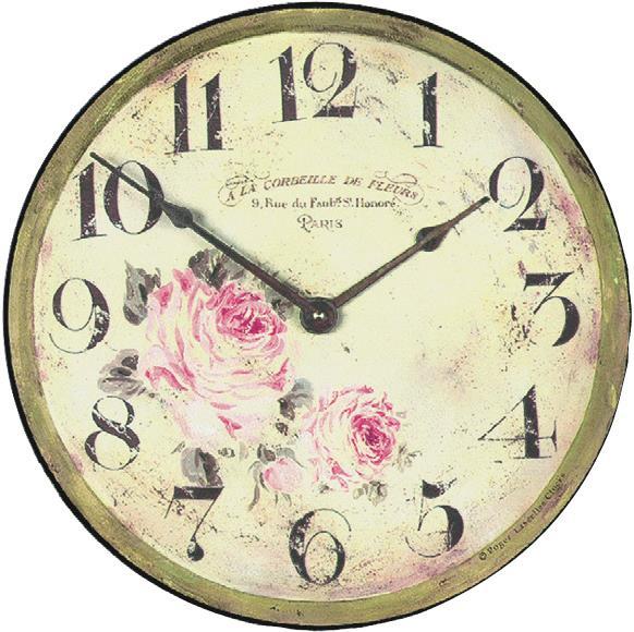 【正規輸入品】 イギリス ロジャーラッセル PUB/FLORIST ROGER LASCELLES 掛け時計 フローラルクロック