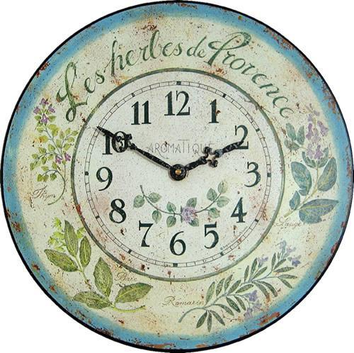 【正規輸入品】 イギリス ロジャーラッセル PUB/HERBES ROGER LASCELLES 掛け時計 フローラルクロック