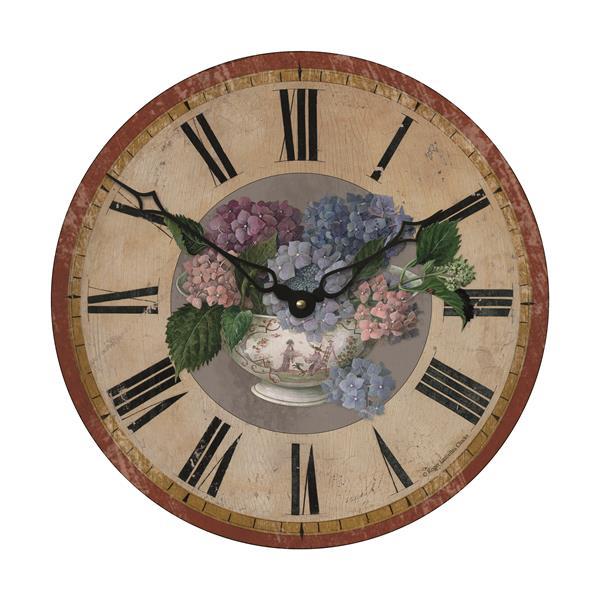 【正規輸入品】 イギリス ロジャーラッセル PUB/HYDRANGEAS ROGER LASCELLES 掛け時計 フローラルクロック