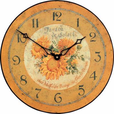 【正規輸入品】 イギリス ロジャーラッセル PUB/SOLEIL ROGER LASCELLES 掛け時計 フローラルクロック