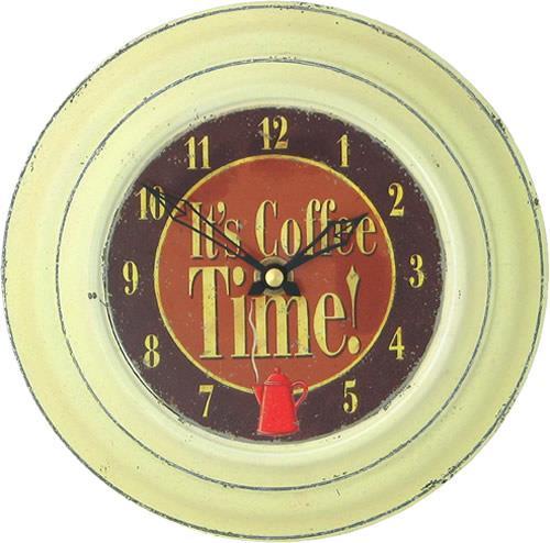 【正規輸入品】 イギリス ロジャーラッセル RO/COFFEE/CRM ROGER LASCELLES 掛け時計 カフェクロック CRM