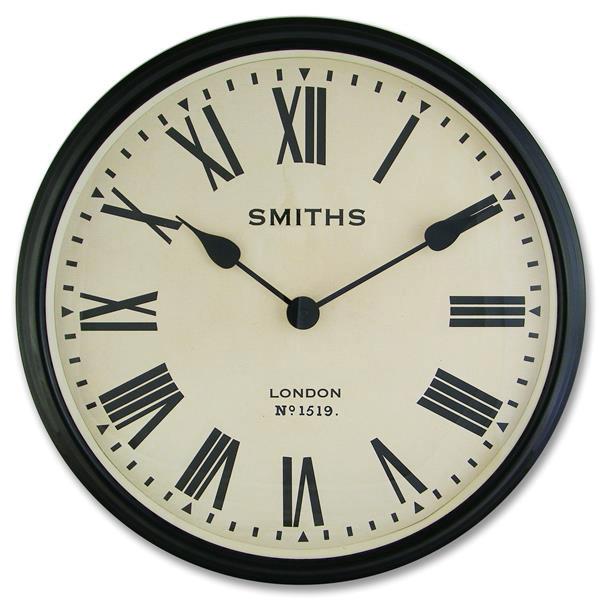 【正規輸入品】 イギリス ロジャーラッセル 掛け時計 ROGER LASCELLES レトロ スミスデザイン (SM/LM/ROMAN) [送料区分(大)]