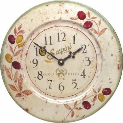 【正規輸入品】 イギリス ロジャーラッセル TIN/OLIVES ROGER LASCELLES 掛け時計 カフェクロック