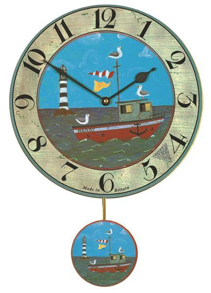 【正規輸入品】 イギリス ロジャーラッセル WDC/PEND/HENRY ROGER LASCELLES 掛け時計 振り子つき HENRY