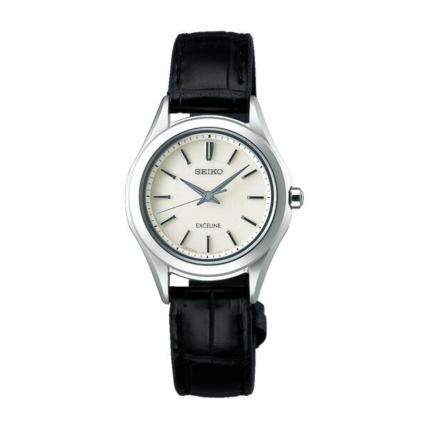 セイコー エクセリーヌ SWCP009 SEIKO EXCELINE ソーラー時計 レディース 【長期保証5年付】