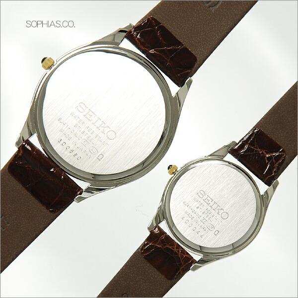 セイコー ペア腕時計 SACM152 & SWDL162 ドルチェ & エクセリーヌ クオーツ ペアウォッチ 【長期保証10年付】