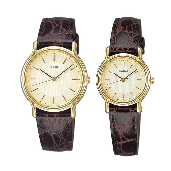 セイコー ペア腕時計 SCDP034 & SSDA034 スピリット クオーツ時計 ペアウォッチ 【長期保証8年付】
