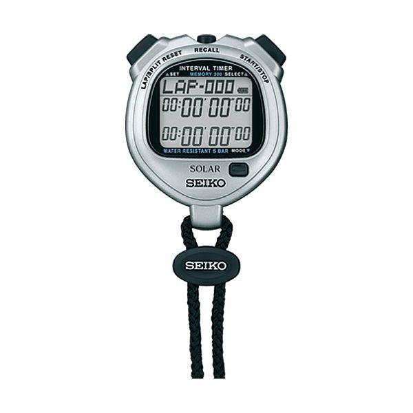 10%OFF SEIKO 国内モデル 腕時計 正規品 セイコー インターバルタイマー STOPWATCH グレー ストップウオッチ 直輸入品激安 ソーラー 新着セール SVAJ101