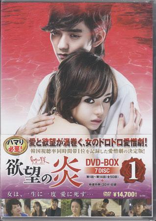 欲望の炎 DVD BOX1 【DVD】