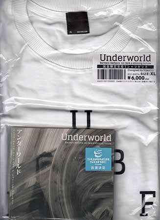 バーバラ・バーバラ・ウィ・フェイス・ア・シャイニング・フューチャー Tシャツ XLサイズ付 / アンダーワールド 【CD】