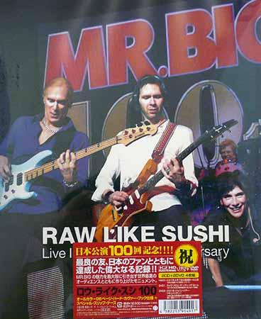 RAW LIKE SUSHI 100 ロー ライク スシ / MR.BIG 【DVD】