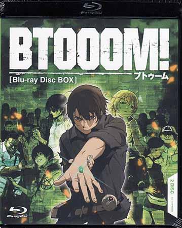 BTOOOM! Blu-ray Disc BOX 【Blu-ray】