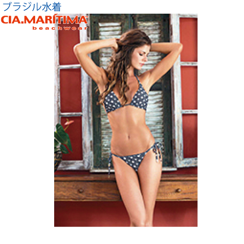 e437f072e13 CIA.MARITIMA カンパーニャマリッチマブラジルインポート swimsuit beachwear triangle bikini  aestheometry cm-3263