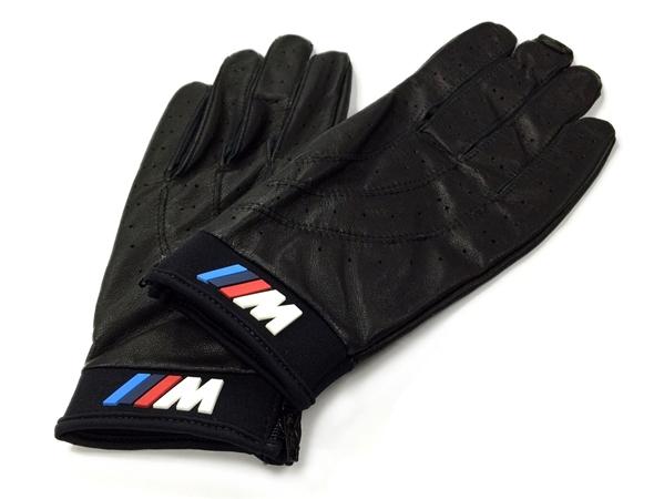 BMW US純正 M-line ドライビング・グローブ/ブラックレザー 【GENUINE PARTS】