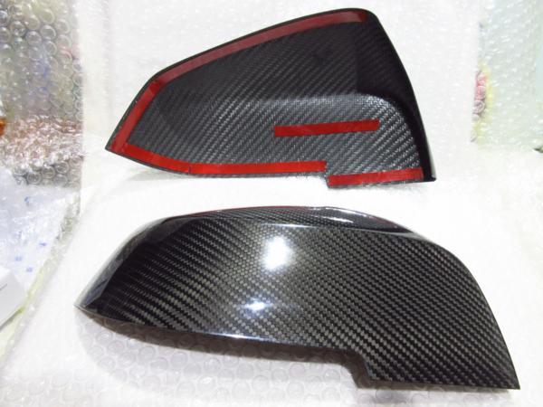 BMW F20/F22/F30/F32/F36 カーボンミラーカバー 【OMTEC】