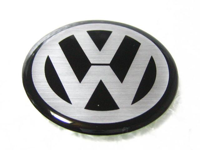 ◎ VW logo ◎ round emblem / 54 mm • Volkswagen •