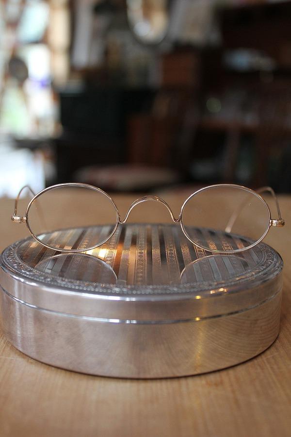 19世紀後期 ヴィクトリアン ゴールドフィルド縄手テンプル眼鏡 02P03Dec16