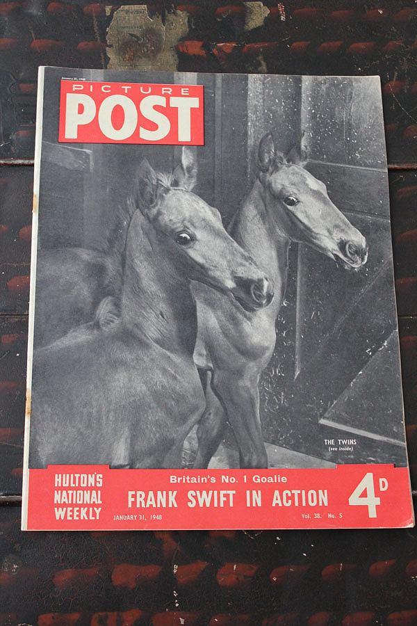 ショッピング フォトジャーナリズム の先駆けとなったイギリスのライフマガジン PICTURE POST 1938年創刊-1957年廃刊 第二次大戦から戦後の暮らし 歴史的瞬間を一流写真家の IN 写真で紹介 流行のアイテム ACTION イギリス FRANK SWIFT 1948年1月31日号