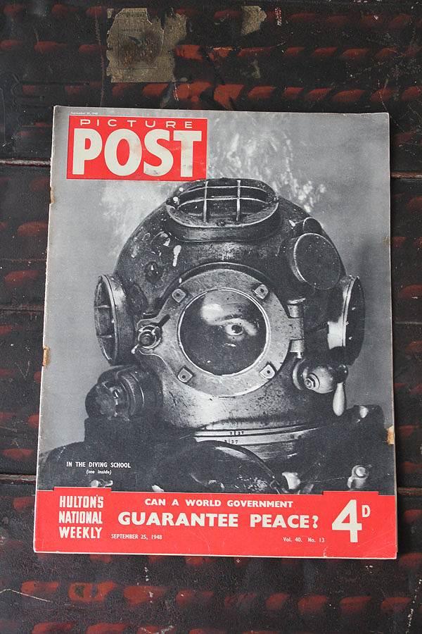 フォトジャーナリズム の先駆けとなったイギリスのライフマガジン PICTURE POST [並行輸入品] 1938年創刊-1957年廃刊 第二次大戦から戦後の暮らし PEACE? GUARANTEE 歴史的瞬間を一流写真家の 期間限定送料無料 写真で紹介 1948年9月25日号 イギリス