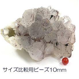 レッドファントム(赤水晶)クラスター 天然石 パワーストーン 原石
