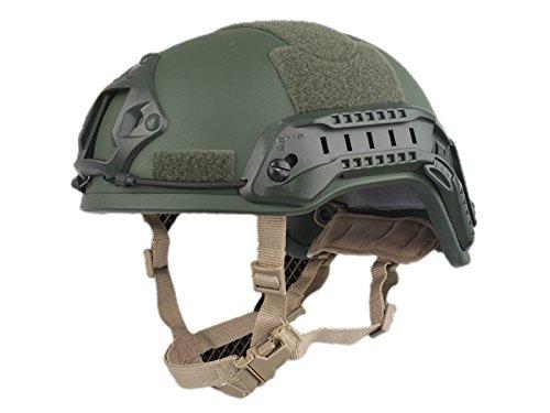 EMERSON製 MICH2001タイプ ヘルメット スペシャルアクションVer オリーブドラブ OD