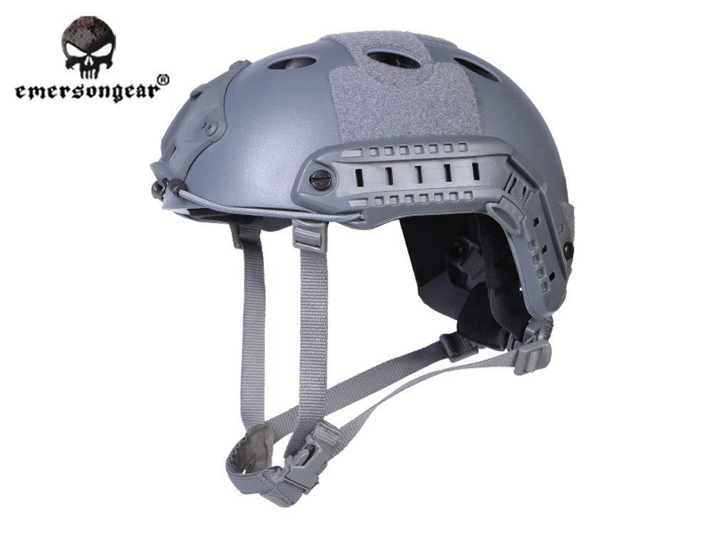 EMERSON製 Fast Ballistic PJタイプ ヘルメット Wolf Grey WG ウルフグレー EM5668K