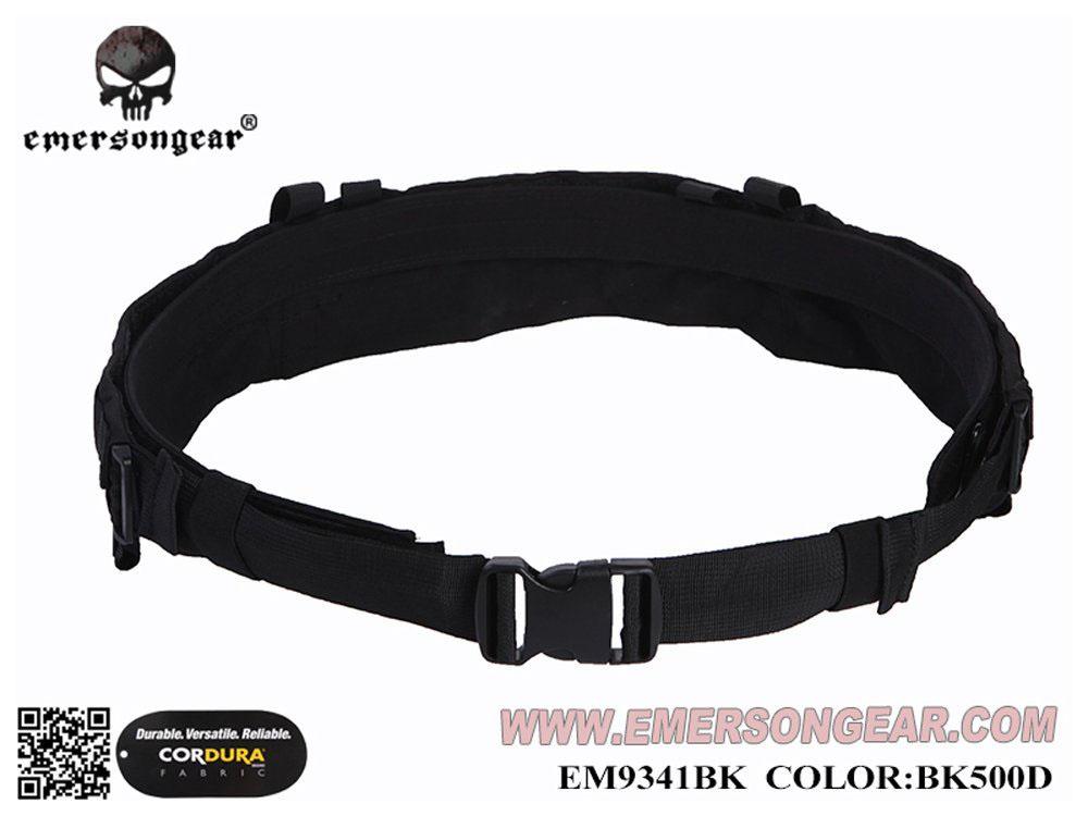 EMERSON製 CPスタイル Modular Rigger's リガーベルト ブラック 黒色 500Dナイロン生地