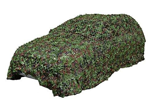 ギリーネット カモフラージュネット 偽装網 迷彩カバー ウッドランド迷彩 600cm * 600cm