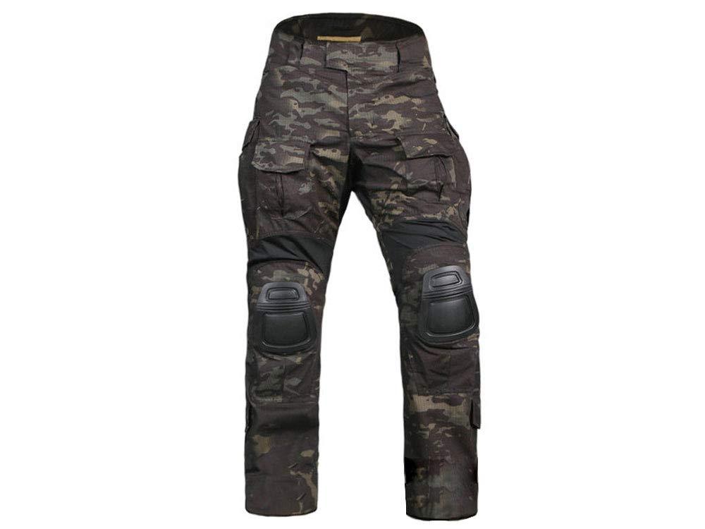 EMERSON ズボンのみ G3 2017アドバンスドVer コンバットパンツ 迷彩服 MultiCam Black マルチカムブラック
