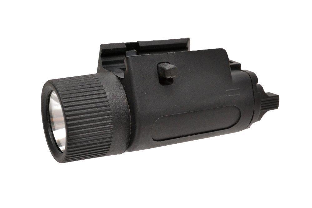 フラッシュライト ブラック サバゲー 装備 コスプレ サバイバルゲーム ミリタリー ウェポンライト LED  CL製 M3スタイル LED ウェポンライト フラッシュライト 200ルーメン 高輝度 黒