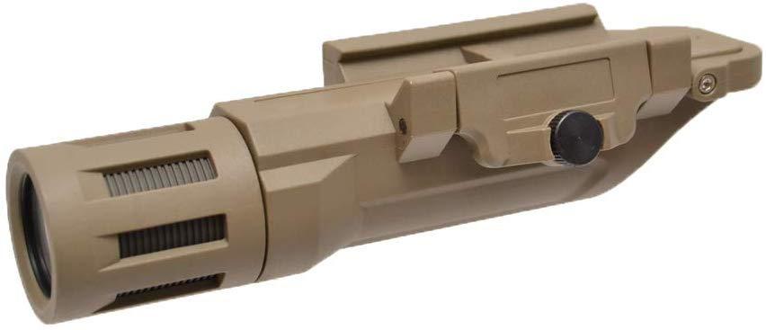CANIS LATRAN製 LED 20mmレイル ウェポンライト フラッシュライト 高輝度 500ルーメン 茶色 CL15-0092