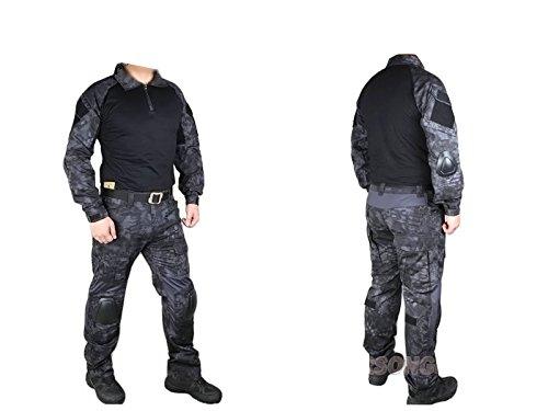 EMERSON製 CRYEタイプ G2 第2世代 コンバット迷彩服 上下セット 戦闘服 Typhon タイフォンタイプ迷彩 YKKジッパー使用