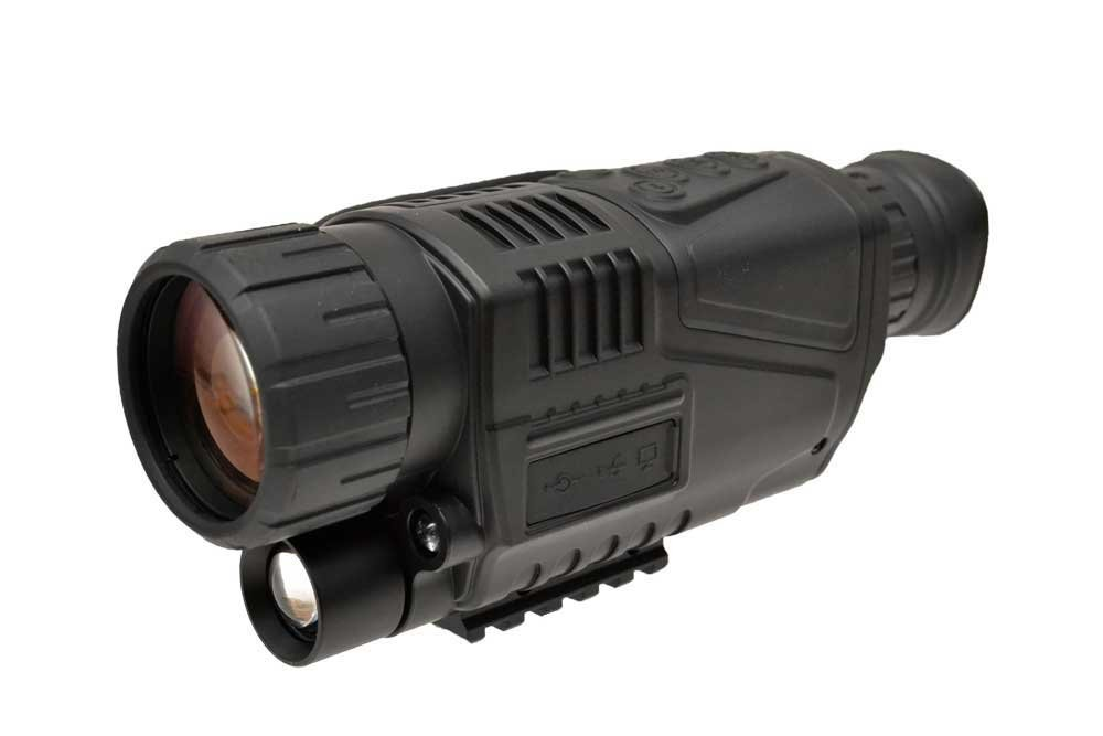 Canis Latrans製 単眼式 デジタルナイトビジョン NVG 暗視ゴーグル 撮影機能付き CL27-0012 黒