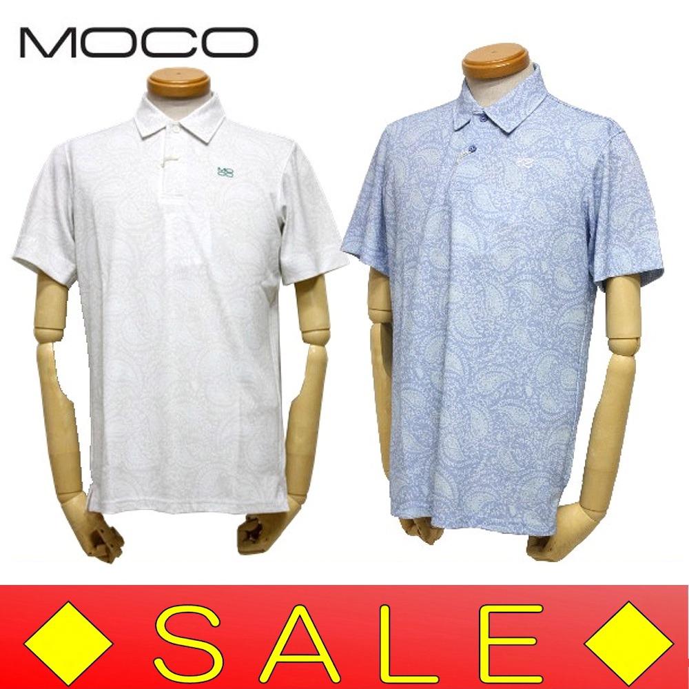【30%OFF!セール】スツールズ/STOOLS モコ/Moco (春夏モデル!)ペイズリー半袖シャツ/ポロシャツ(メンズ)ゴルフウェア/17