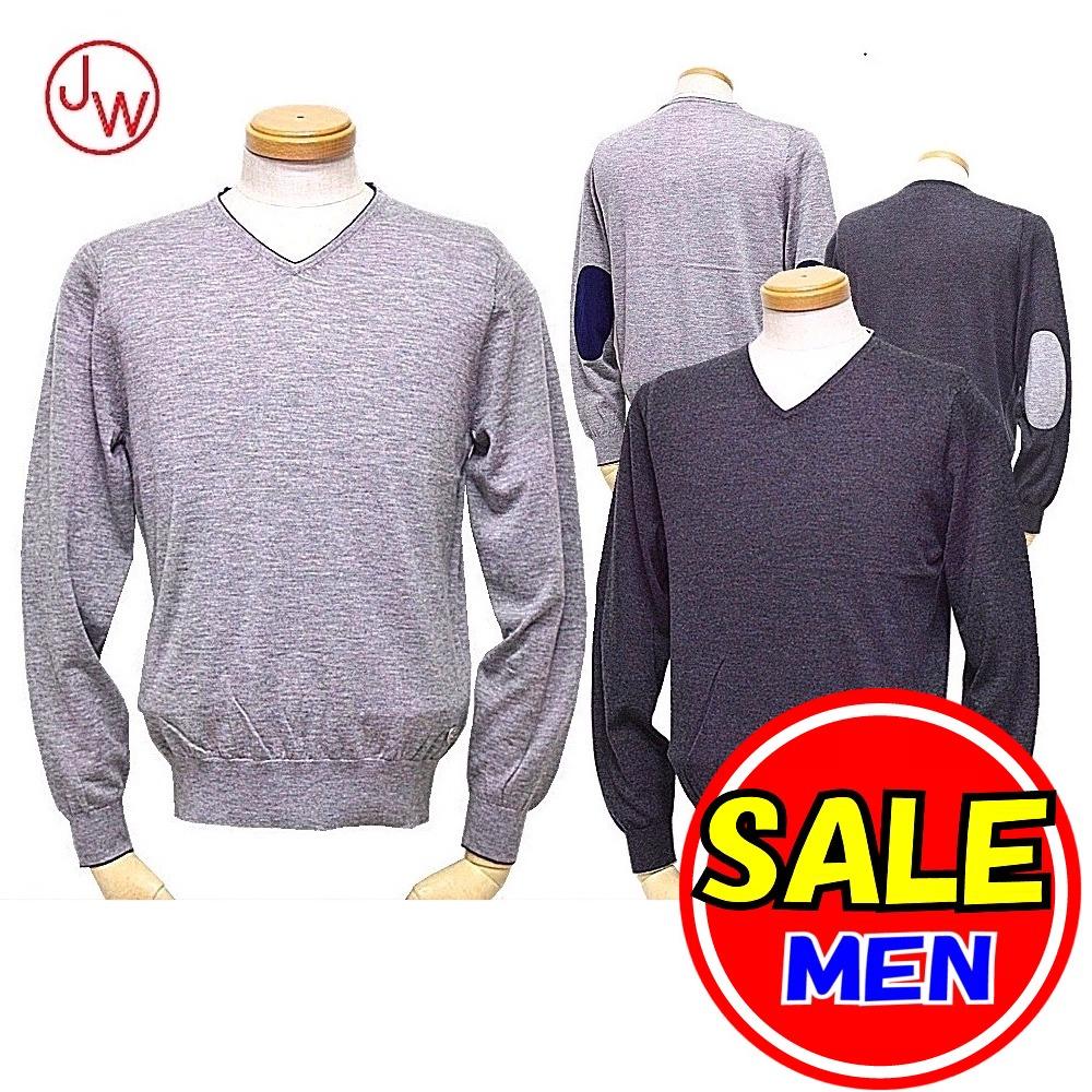 【30%OFF!セール】スツールズ/STOOLS / ジェイダブルオー/ JWO (秋冬モデル!)Vネックセーター/薄手セーター(メンズ)ゴルフウェア/17