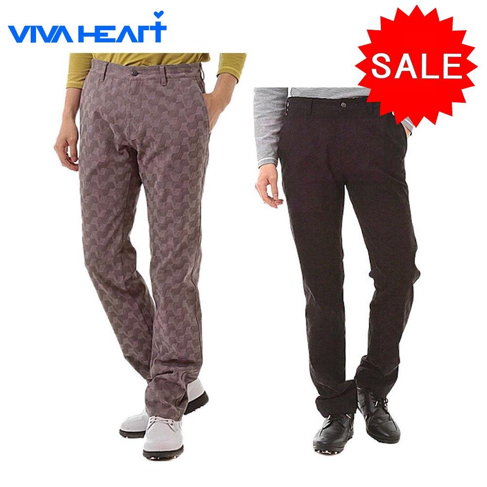 【40%OFF!セール】ビバハート / VIVA HEART (秋冬モデル!)幾何3D柄★ストレッチパンツ/Regular Fit(メンズ)ビバハート/ゴルフウェア/16