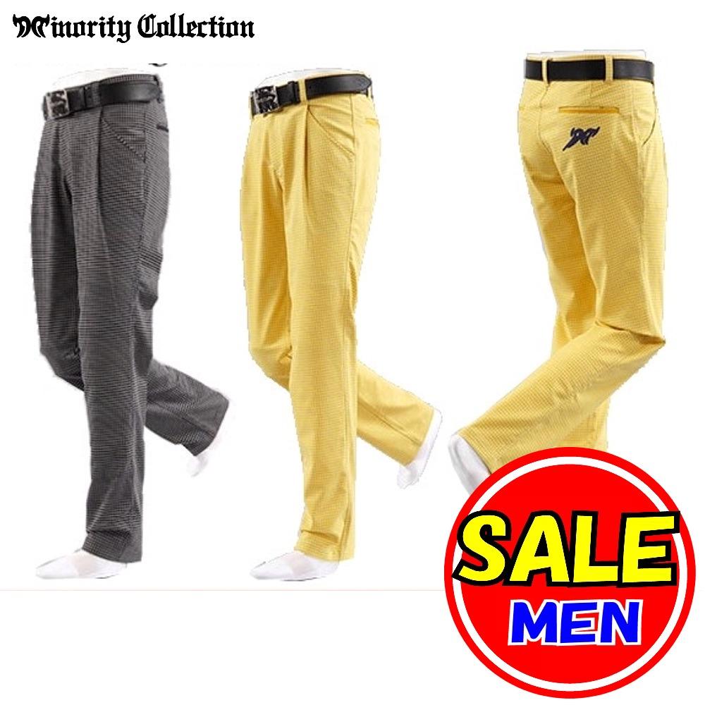 【最終セール!!】マイノリティ コレクション / Minority Collection (春夏モデル)アクアドビーパンツ(メンズ)マイノリティ/ゴルフウェア