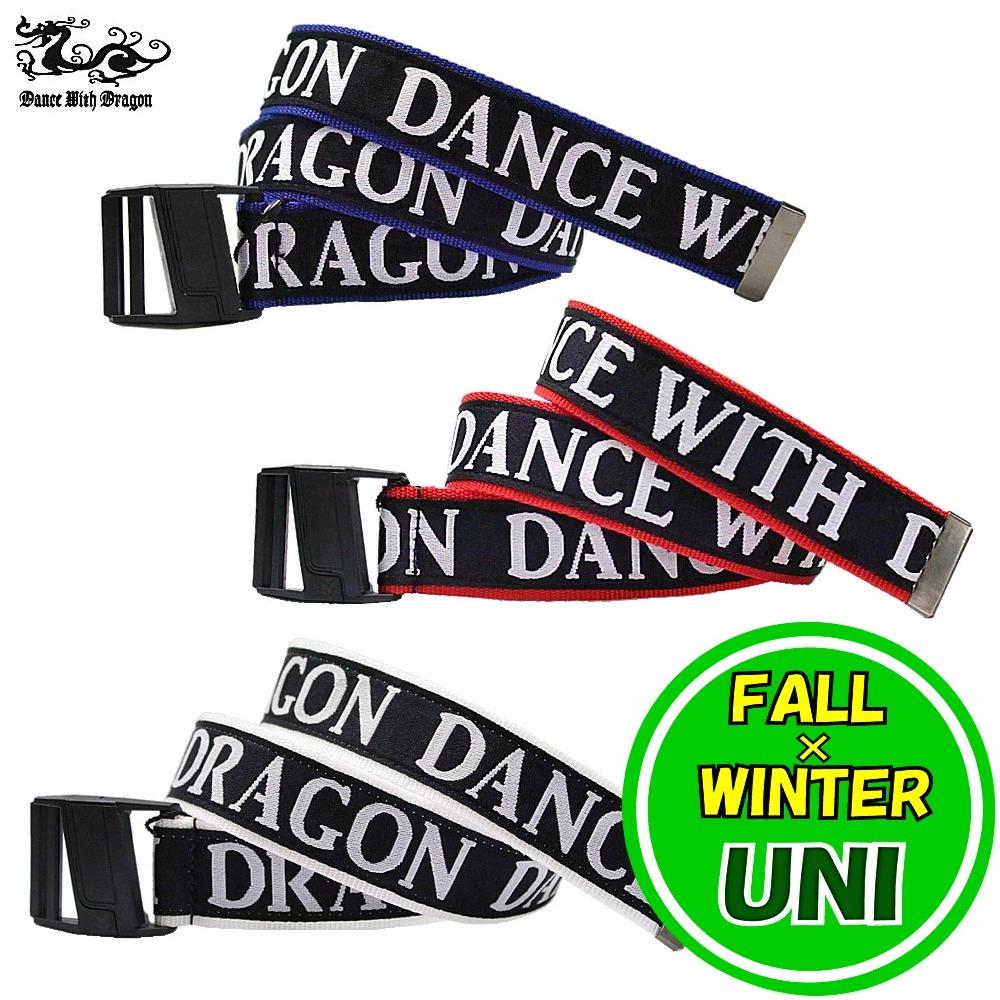 ダンスウィズドラゴン / DANCE WITH DRAGON (秋冬!) マグネットバックルベルト (メンズ/レディース)ダンスウィズドラゴン/ポイント5倍!