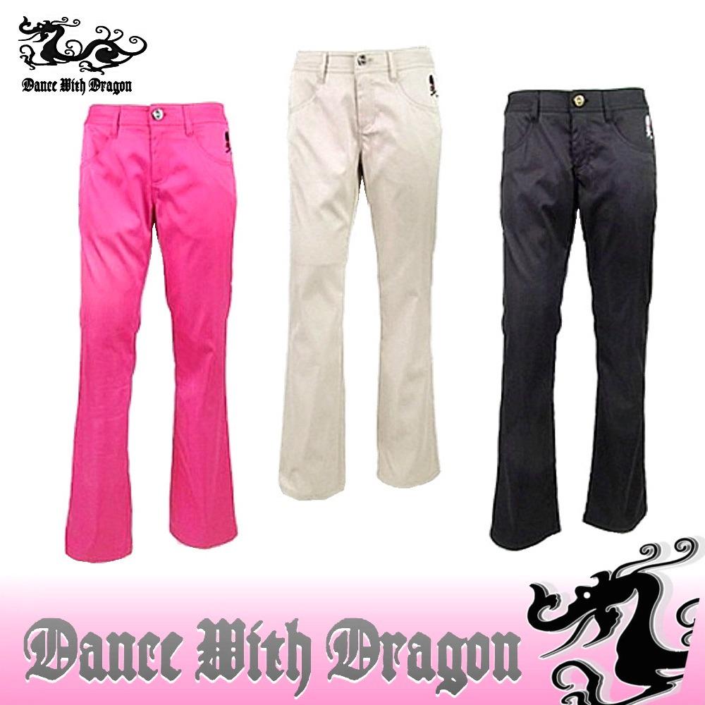 ダンスウィズドラゴン / DANCE WITH DRAGON(春夏モデル!)サテンストレッチブーツカット(レディース)