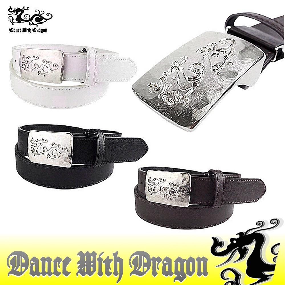 ダンスウィズドラゴン / DANCE WITH DRAGON (春夏モデル!)スムースベルト(メンズ/レディース)ダンスウィズドラゴン/ポイント5倍!送料無料!ゴルフウェア/ ダンス ウィズ ドラゴン/17