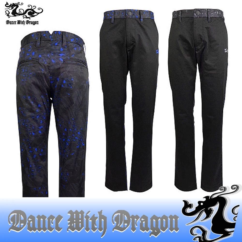 ダンスウィズドラゴン / DANCE WITH DRAGON (秋冬!)バックミックスプリントボトム (メンズ) ダンス ウィズ ドラゴン/ポイント5倍!送料無料/16