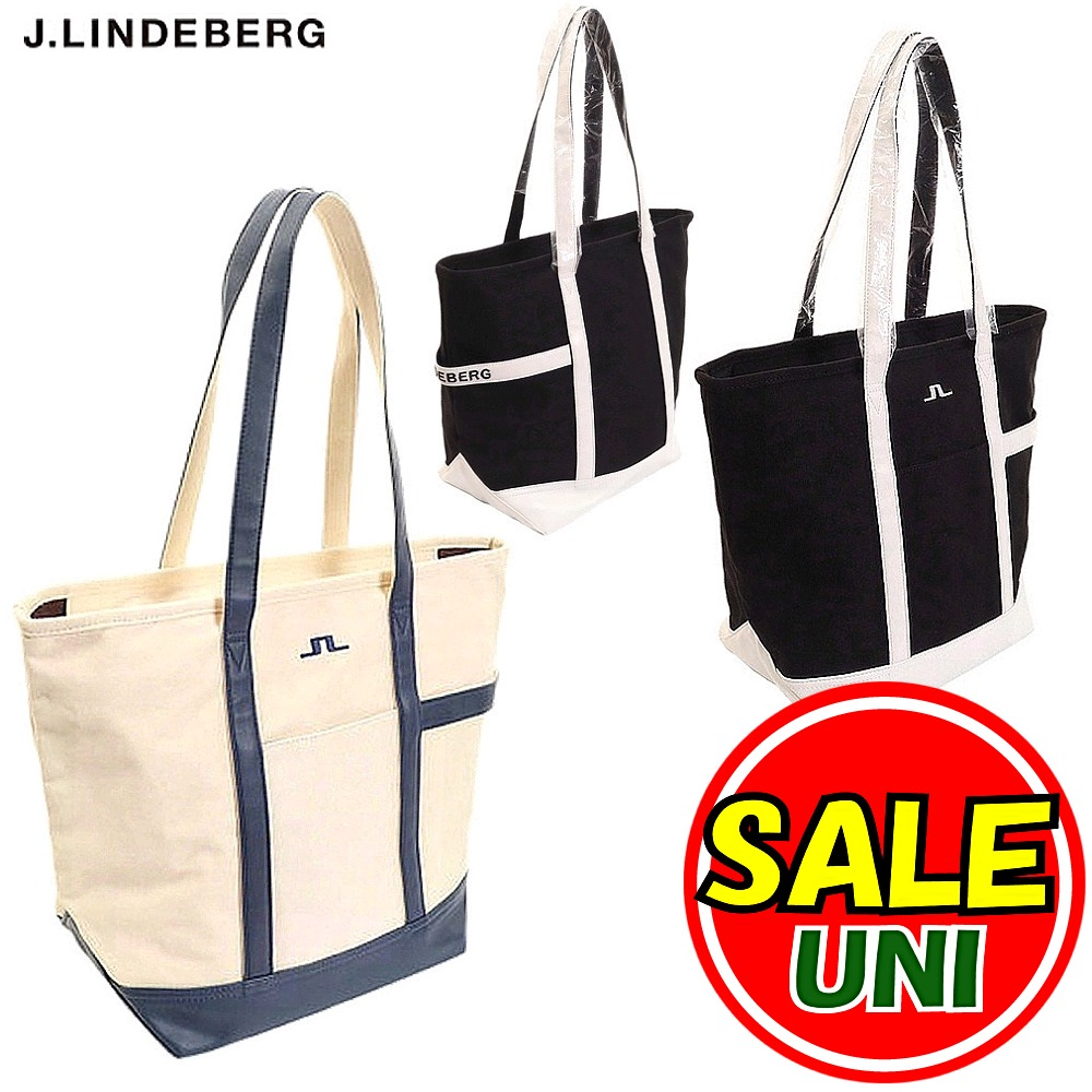 J.リンドバーグ / J.LINDEBERG (秋冬!)トートバッグ/キャンバス生地(メンズ)ジェイ リンドバーグ/ゴルフウェア
