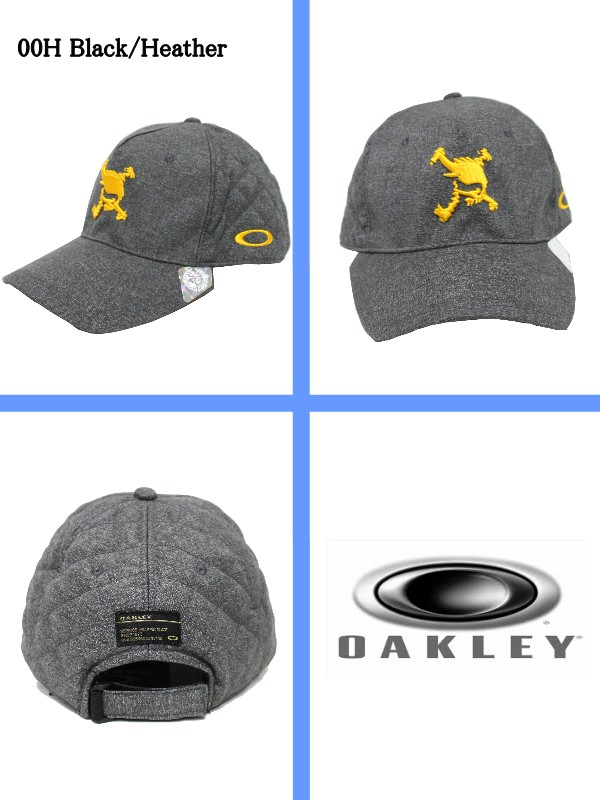 Oakley / OAKLEY 2016 winter new! Skull Crown Visor / triple skull Crown Cap (men) wear points! 16 / 08 / 22 UP!