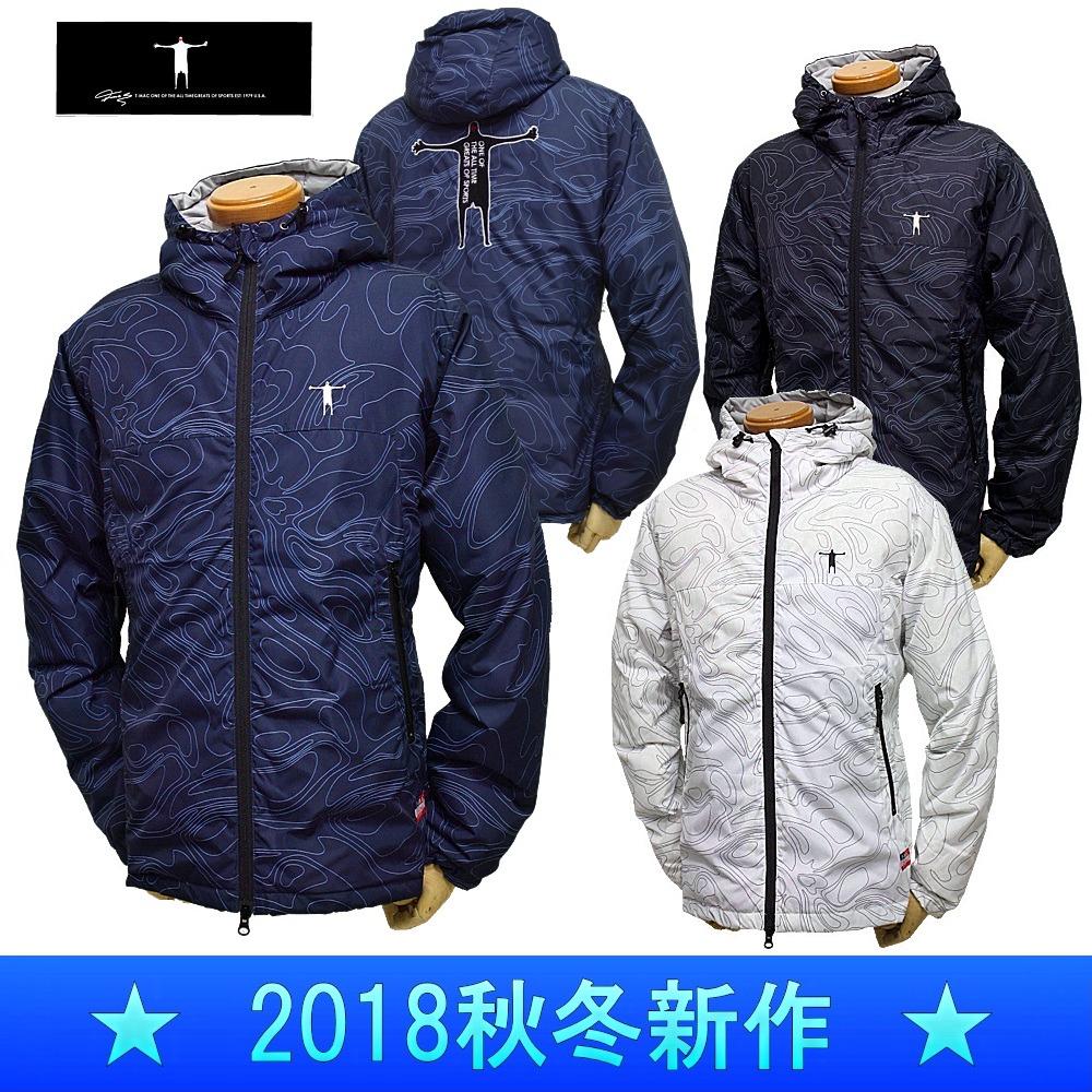 【30%OFF!セール】T-MAC / ティーマック(2018秋冬新作!)ダウンブルゾン(メンズ)ゴルフウェア